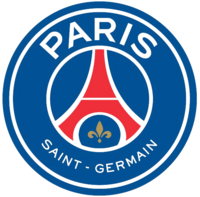 Paris Saint-Germain FC logo (introduced 2013)