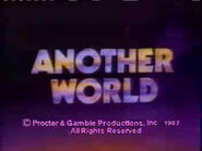 Another World Video Close From Early 1987