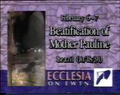 Ecclesia on EWTN