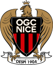 OGC Nice logo (introduced 2013)