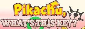 Pikachu, What's This Key? logo