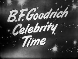 B.F. Goodrich Celebrity Time