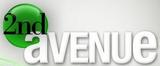 2nd Avenue white Logo 2009