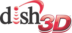 Dish 3D logo
