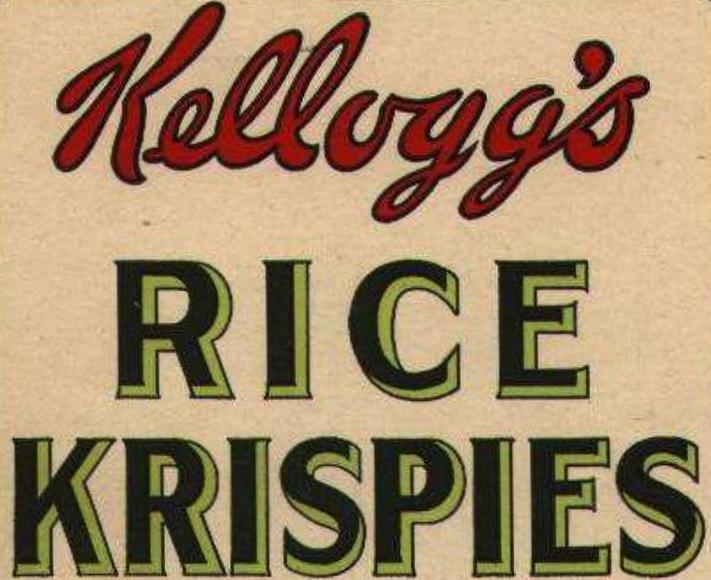 Rice Krispies 1927