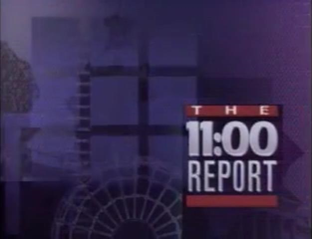 WIS-TV's WIS-TV News' The 11 O'Clock Report Video Open From 1990