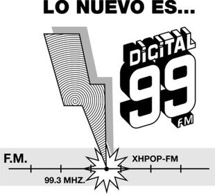 Digital 99 XHPOP-FM 1988