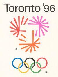 Toronto 1996 Olympic bid logo