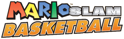 Mario Slam Basketball Logo