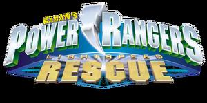 Power Rangers Lightspeed Rescue Logo