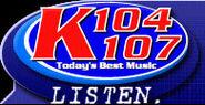 WSPK-FM's K104 And WXPK-FM's K107 Logo From April 2003