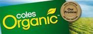 Coles organic packet
