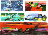 Google Alejandro Obregon's 93rd Birthday (Storyboards)