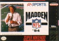 Madden NFL '94 Coverart