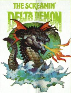 Screamin' Delta Demon logo