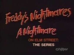 Freddys Nightmares title card