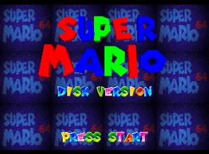 Super Mario 64DD