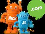Nick Jr. Dot Com Plush Robots
