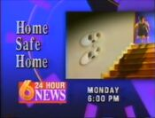 WBRC-TV Channel 6 Home Safe Home Promo 1993