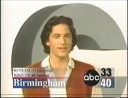 Alabama's ABC 33-40 Station ID 1996