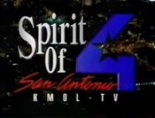 KMOL-TV (now WOAI) id promo montage 1994 11