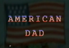 American dad pilot logo