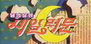 Sailor Moon Korean KBS Logo
