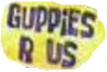 Guppies R Us Logo