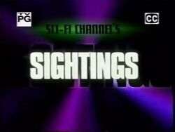 Sci-Fi Channel Sightings (1996)