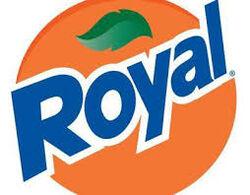 Royal Tru orange logo
