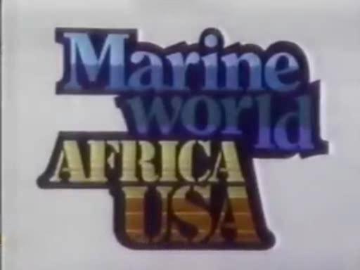 Marine World Africa USA mid 80's logo