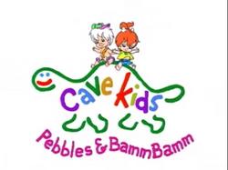 Cave Kids Pebbles & Bamm Bamm Title Card