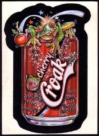 Cherrycroakpainting
