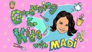 Nickelodeon Nick Jr. Gardening for Kids with Madi Logo