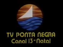 Primeira vinheta da TV Ponta Negra (SBT RN)