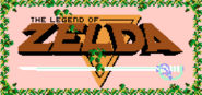 Zelda 1 Logo in game