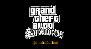 Gta sa introduction logo