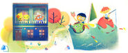 Google Rafael Pombo's 180th Birthday