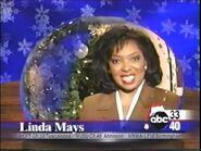 ABC 33-40 Season Greetings ID with Linda Mays