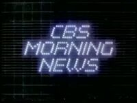 CBS Morning News 1982 a