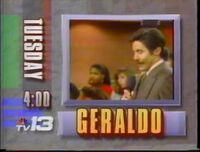 WVTM TV-13 Geraldo promo 1991