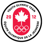 Canada Youth Olympic team logo (2012)