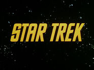 Classic Star Trek Title Card
