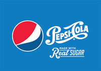 Pepsi Cola Logo 2014 with 2008 logo