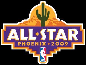 2009 NBA All-Star logo