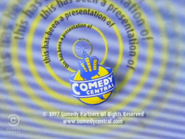 Comedy Central Productions 1997 copyright notice