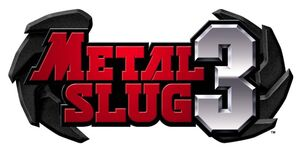 Metal slug 3 logo