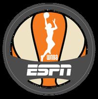 WNBA on ESPN 2013 logo