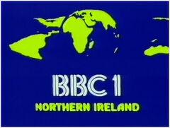 BBC 1 1981 Northern Ireland