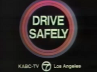 KABC Drive Safely PSA 1972
